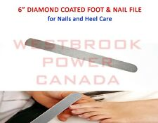 "6"" Diamond Deb File Skin Toe Nail Care Podiatory Manicure Pedicure Foot Dresser"