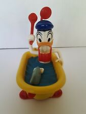Vintage Disney Donald Duck In Bathtub With Shark