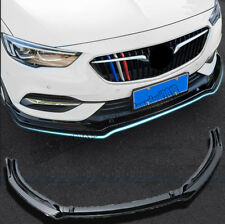 New Black ABS Front Bumper Lip Body Spoiler Fit For Buick Regal  2017-2018