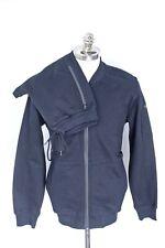 NWT $700 PAUL & SHARK Solid Black Cotton Tracksuit Sweatsuit Jacket Pants XL L