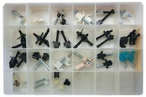 42 Piece Big A Headlamp Adjustment Screw Assortment Kit - 21 Types 2 Each