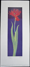 Nel WHATMORE, Original Giclee, Parrot Tulip I, Signed Numbered