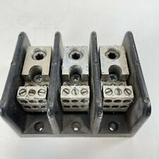 Taylor Electric Pn 67033 3 Pole Power Distribution Block 14 4awg 6 350mcm