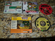 Backyard Soccer & Matchbox Adventures in Time (PC, Games)