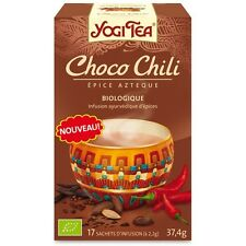 Te Choco Chili Infusion Bio Yogi Tea 17 Filtros