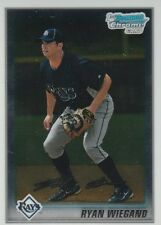 8 RYAN WIEGAND RC LOT 2010 BOWMAN CHROME PROSPECTS