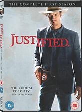 JUSTIFIED - SEASON 1  - DVD - REGION 2 UK