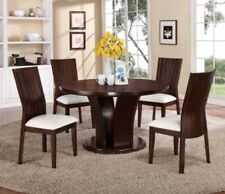 Leather Dining Furniture Sets With 5 Pieces For Sale | EBay