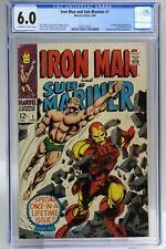Iron Man and Sub-Mariner #1 (1968) CGC 6.0 HOT KEY Predates Both IM and SM #1