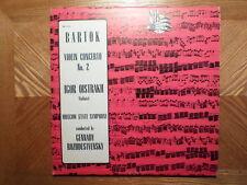 MK USSR LP RECORD/BAROK VOILIN CONCERTO NO. 2/IGOR OISTRAKH/ MOSCOW ST,SYMP/EX