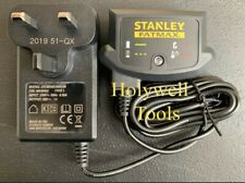 Stanley FatMax 18v Volt Charger Replacement for Cordless Drills FMC608 FMC628