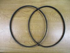 Set of Roller & Cylinder Drive Belts for Qualcast Classic 35s 43s A57941 &a57940