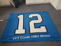 2019 Seattle Seahawks Blanket Season Ticket Holder STH STM 12 Large