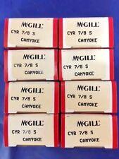 Lot of 8** NEW** McGILL CYR 7/8S Camyoke Precision Bearing