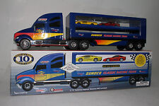 SUNOCO CAR TRANSPORTER. SUNOCO CLASSIC RACING TEAM, BOXED