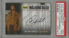 2016 The Walking Dead Jose Pablo Cantillo Season 4 Pt. 1 PSA 9 Auto.