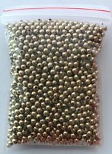 2000 pcs Spacer Gold Beads Round Copper 2mm Bead Jewelry Making Bead 16B