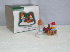 Dept. 56 North Pole Village Accessory Elves ~ You Want Fries With That? # 807238