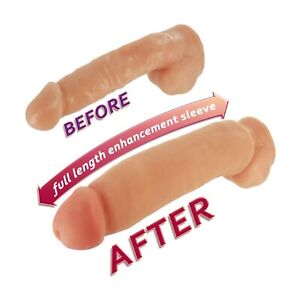 XR Brands Sexflesh Fat Jack Penis Enlarger Sleeve Adds Girth and Length