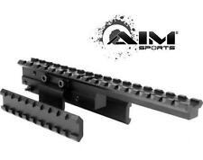 AIM Sports Mosin Nagant Tri-Rail Tactical Scope Mount 2 Removable Side Mounts
