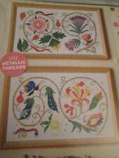 """Tudor Floreale ELEGANCE"" Barbara Hammet cross stitch chart (solo)"