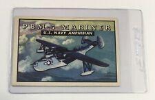 1952 Topps Wings #139 Pbm-5 Mariner Us Navy Amphibian (Em) R707-4 Cab2