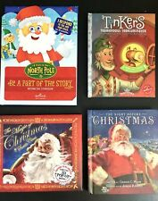 Christmas Hallmark Recordable Storybook, Interactive, 3D Pop Up ~ Lot Of 4 Books