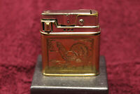 Rowenta Auerhahn Automatic Petrol Lighter Briquet Benzin restored Video