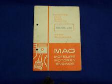 Rarität - MAG Ersatzteilliste 1026-SRLx306