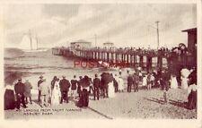 pre-1907 LANDING FROM YACHT IVANHOE - ASBURY PARK