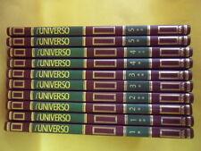 L'UNIVERSO GRANDE ENCICLOPEDIA DELL'ASTRONOMIA 10 VOLUMI DE AGOSTINI 1997