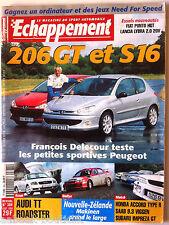 Echappement n°384; Essai Fiat Punto HGT, Lancia Lybra 2.0/ Audi TT Roadster