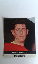 1970 Peter Bonetti Chelsea Sticker only issued in Italy by Radio Courier