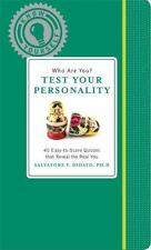 Who Are You? Test Your Personality (Know Yourself), Didato, Salvatore V., Good C