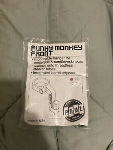 """paul components funky monkey front cable hanger 1 1/8"""""""