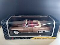 1958 CADILLAC ELDORADO BIARRITZ. 1:18 DIE CAST METAL COLLECTION New  In Used Box