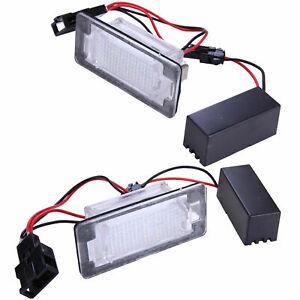 LED Kennzeichenbeleuchtung für VW T-Cross   Tiguan 5N   AD1   Allspace BW [7302]