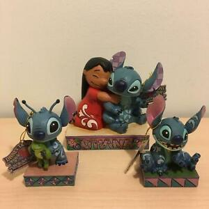 Disney Traditions Stitch Figurines Set of 3 NEW & BOXED