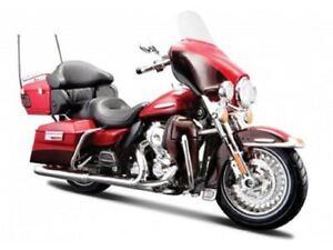 Maisto Modèle Réduit de Moto Harley Davidson 2013 FLHTK Electra Glide 1/12
