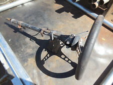 TRIUMPH SPITFIRE EARLY STEERING COLUMN ASSEMBLY WITH HANGING MOUNT FROM A MARK 2