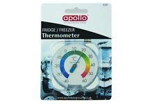 Cocina Dial Apollo Nevera-Congelador Termómetro Dial Colgar lugar en Nevera Refrigerador