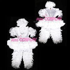 lockable satin adult baby sissy maid Dress Unisex  CD/TV Tailor-Made [G2400]