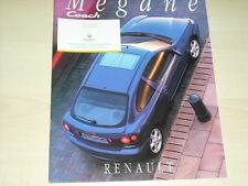 40495) Renault Megane Coach Prospekt 01/1995