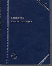 Canadian Silver Dollars Blank Storage Whitman Folder #9006 Holds 27 Coins