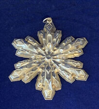 Gorham Sterling Silver Snowflake Christmas Ornament 1974
