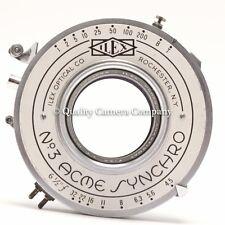 Ilex Paragon Anastigmat 163mm f/4.5 + #3 Acme Synchro - VINTAGE LARGE FORMAT WOW