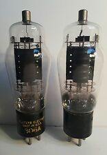 2 Early Tube 306A Western Electric For SE Single-Ended Amplifier 1 Engraved Base