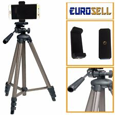 Eurosell Smartphone LG Stativ 130cm Kamerastativ hoch groß Foto Video