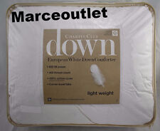 Charter Club Light Weight KING European White Down Comforter