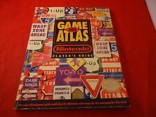 NES Game Atlas Strategy Guide Player's Hint Book TMNT Zelda Castlevania Mega Man